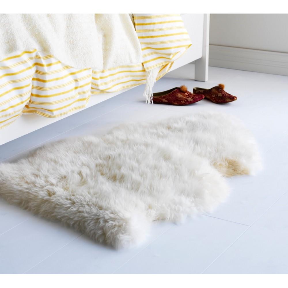 tapis de monton 100 naturel. Black Bedroom Furniture Sets. Home Design Ideas