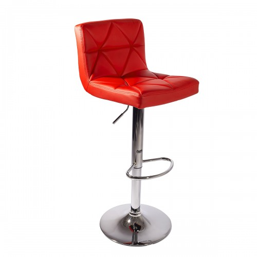 Tabouret de bar MONI Rouge