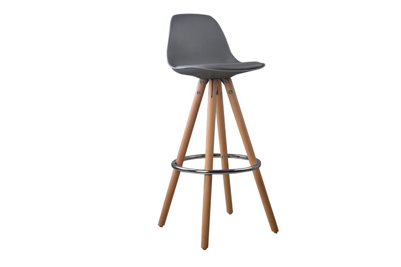 nordic lot 2 tabourets de bar bois massif style scandinave ebay. Black Bedroom Furniture Sets. Home Design Ideas
