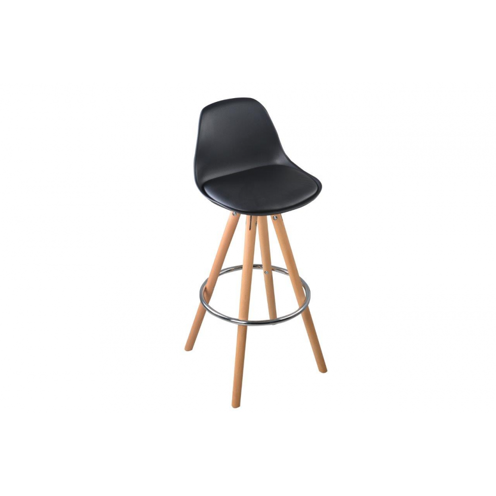 lot de 2 tabourets de bar design scandinave nordique. Black Bedroom Furniture Sets. Home Design Ideas