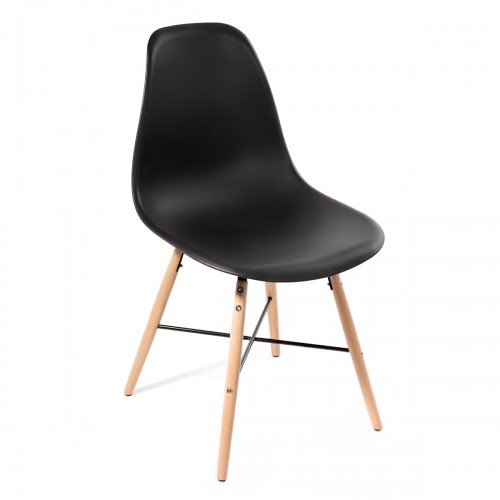 Lot 4 chaises Art VOSTER Noir