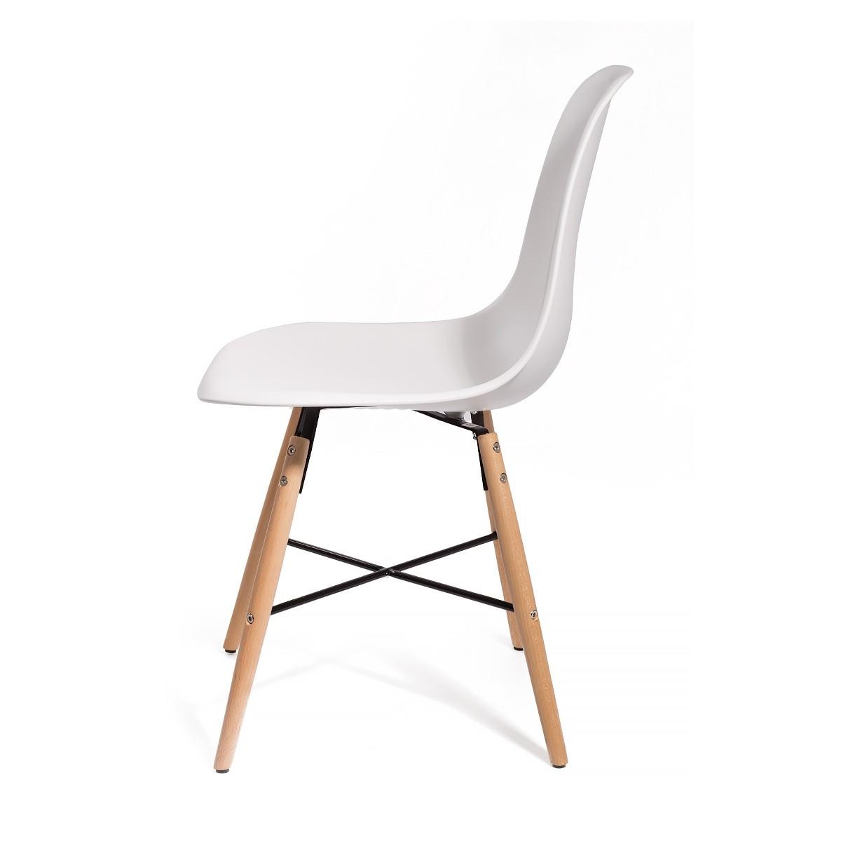 Lot-4-chaises-design-Art-VOSTER-Top-qualite-inspire-Eiffel