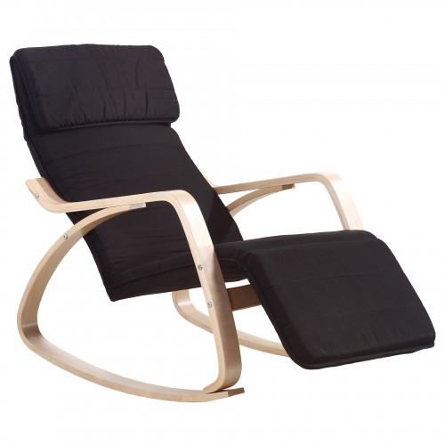 Rocking chair chaise à bascule fauteuil relaxant