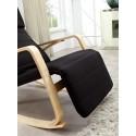 Rocking-chair fauteuil Noir