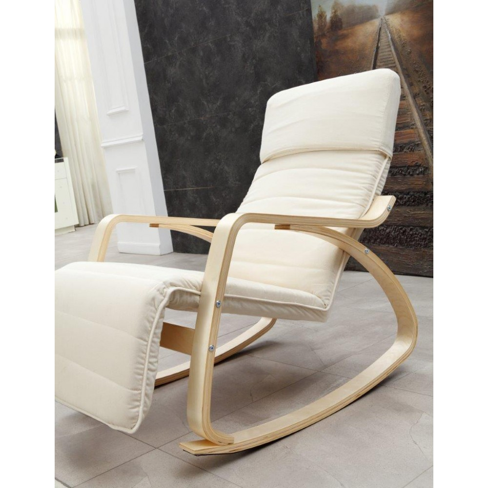 Fauteuil de relaxation rocking chair chair basculant for Transat relax basculant