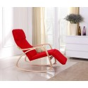 Rocking-chair fauteuil Rouge