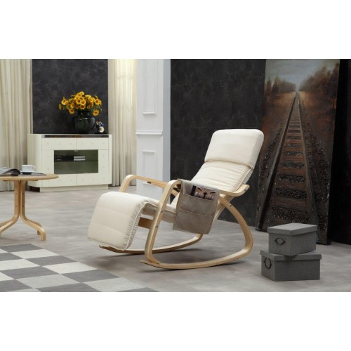 Rocking-chair fauteuil relaxation avec organisateur