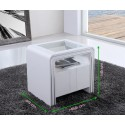 Table de nuit S85 Blanc