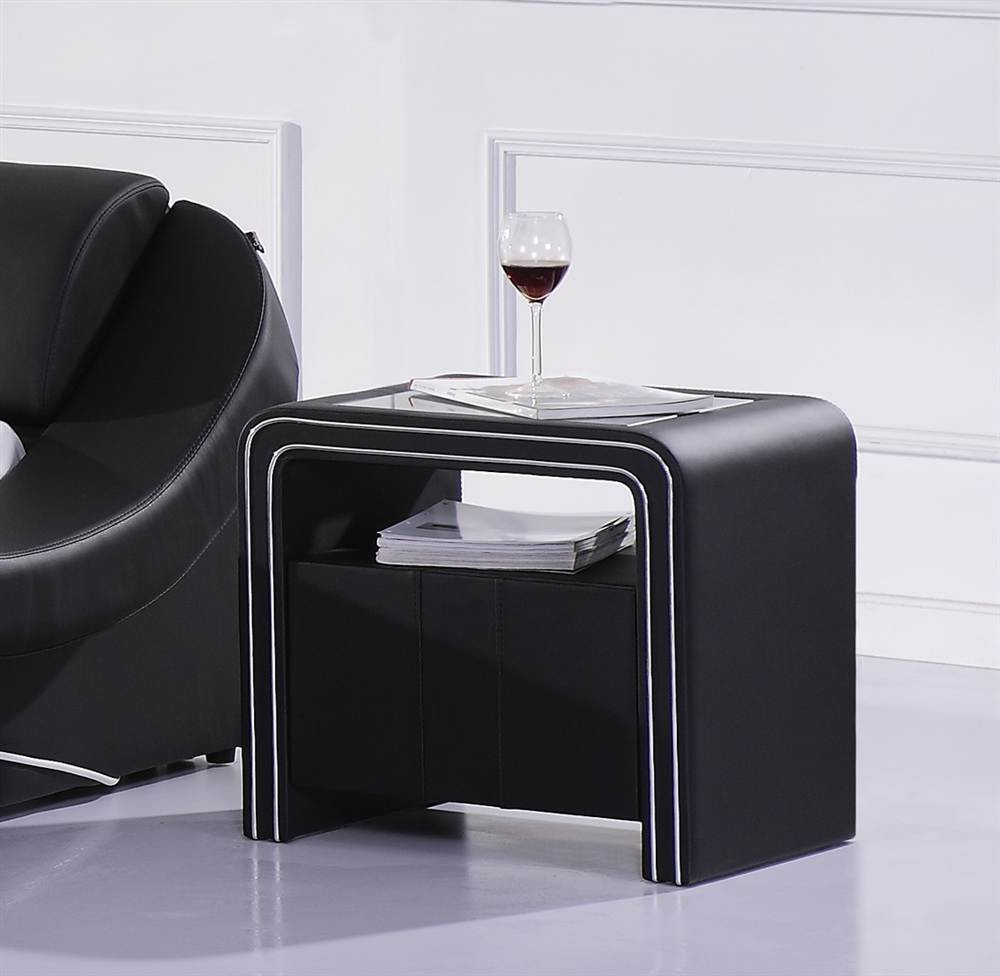 table de nuit chevet design s85 ebay. Black Bedroom Furniture Sets. Home Design Ideas