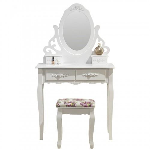 Magnifique coiffeuse miroir et siège table de maquillage