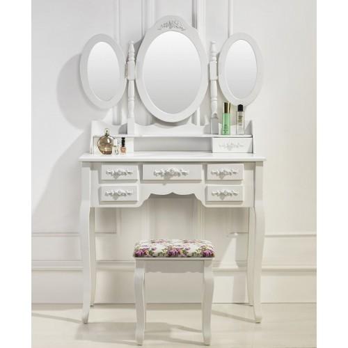 Très jolie coiffeuse table de maquillage