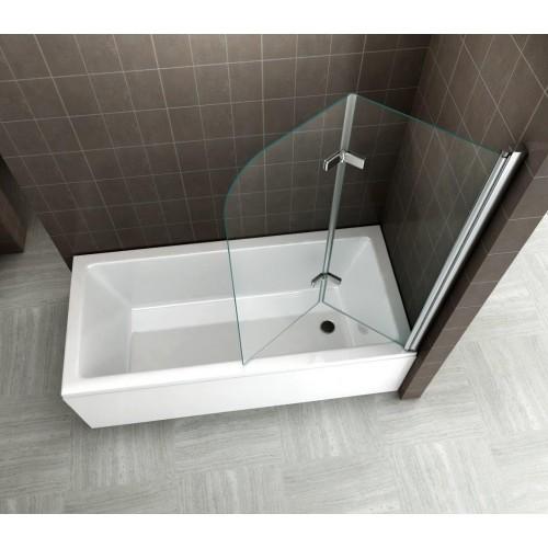 Pare-baignoire transparent