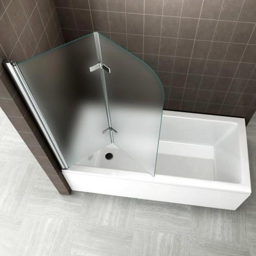 pare-baignoire dépoli
