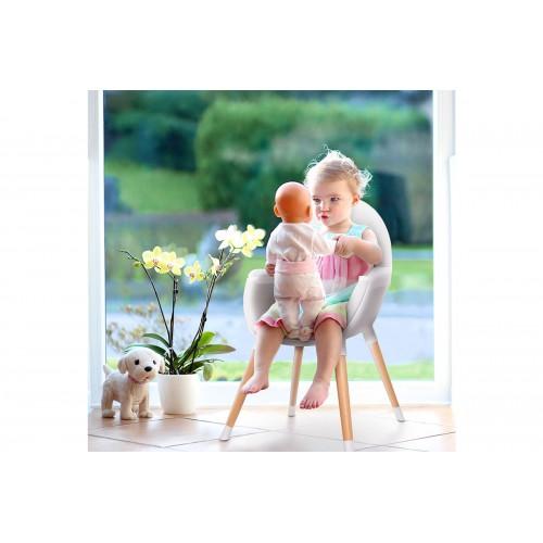 FINI chaise haute 2en1 bébé et enfant scandinave style nordic