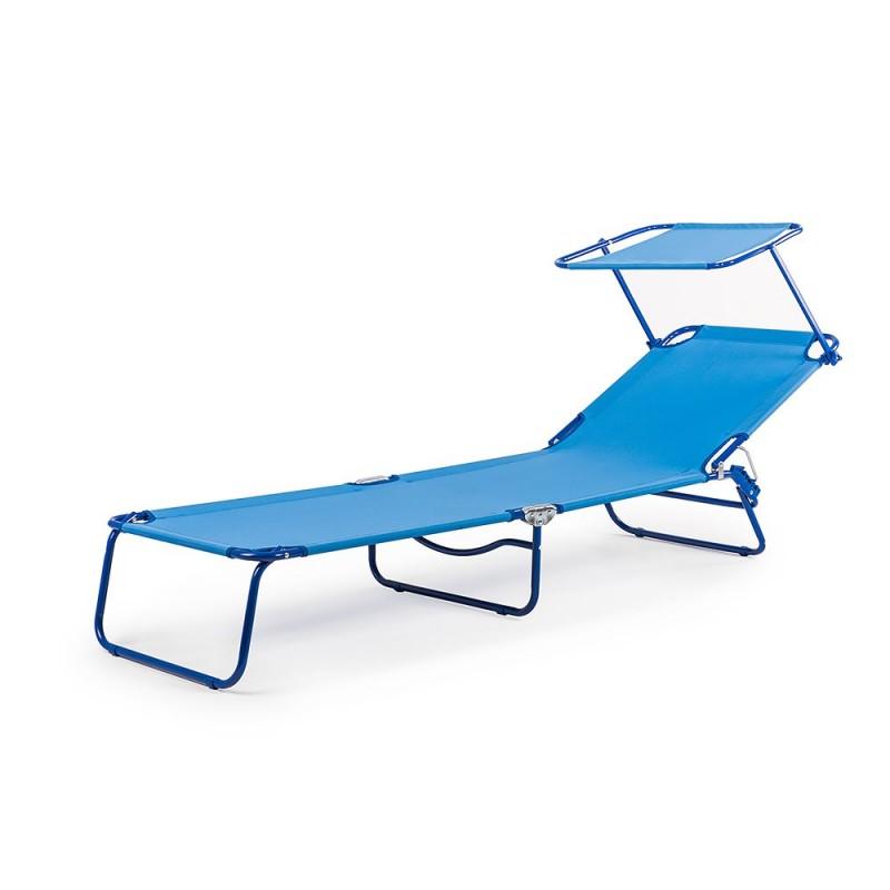 ROOF BALI Transat lit de plage chaise longue bain de soleil spéciale lecture Piscine jardin terrasse