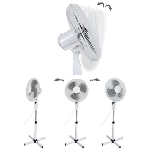 Ventilateur sur pied réglable