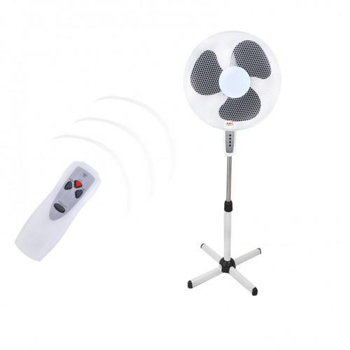 Ventilateur programmable sur pied avec télécommande
