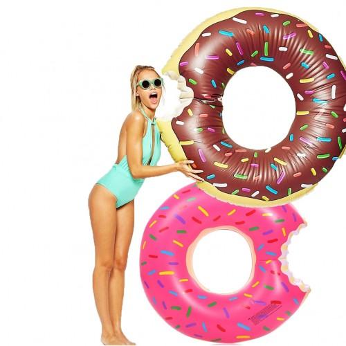 Bouée gonflable Donut géant piscine et plage