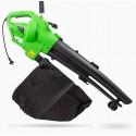 Souffleur aspirateur broyeur de feuilles 3000W 270km/h