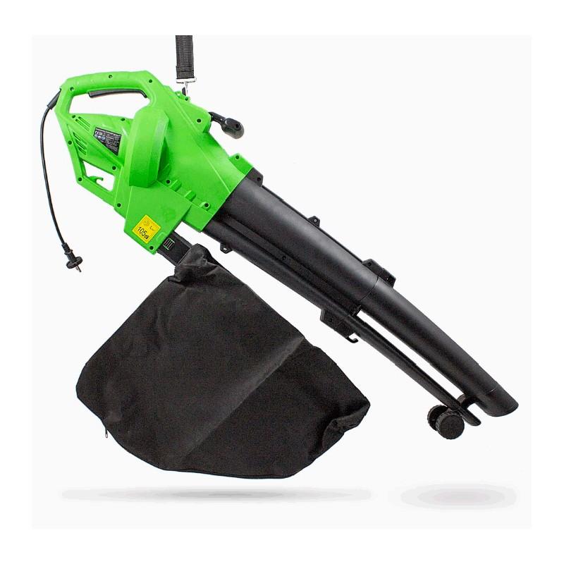 Souffleur - aspirateur - broyeur de feuilles