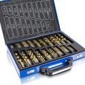 Kit de 235 forets professionnels bois et métal 230 TLG