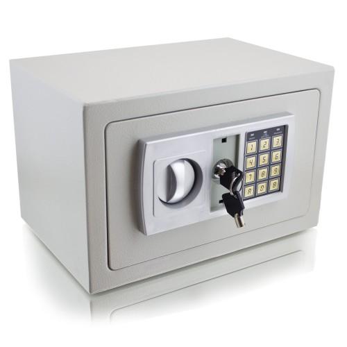 Coffre-fort à combinaison électronique + clés verrouillage