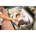 UNO 2en1 Lit bebe collé lit parent