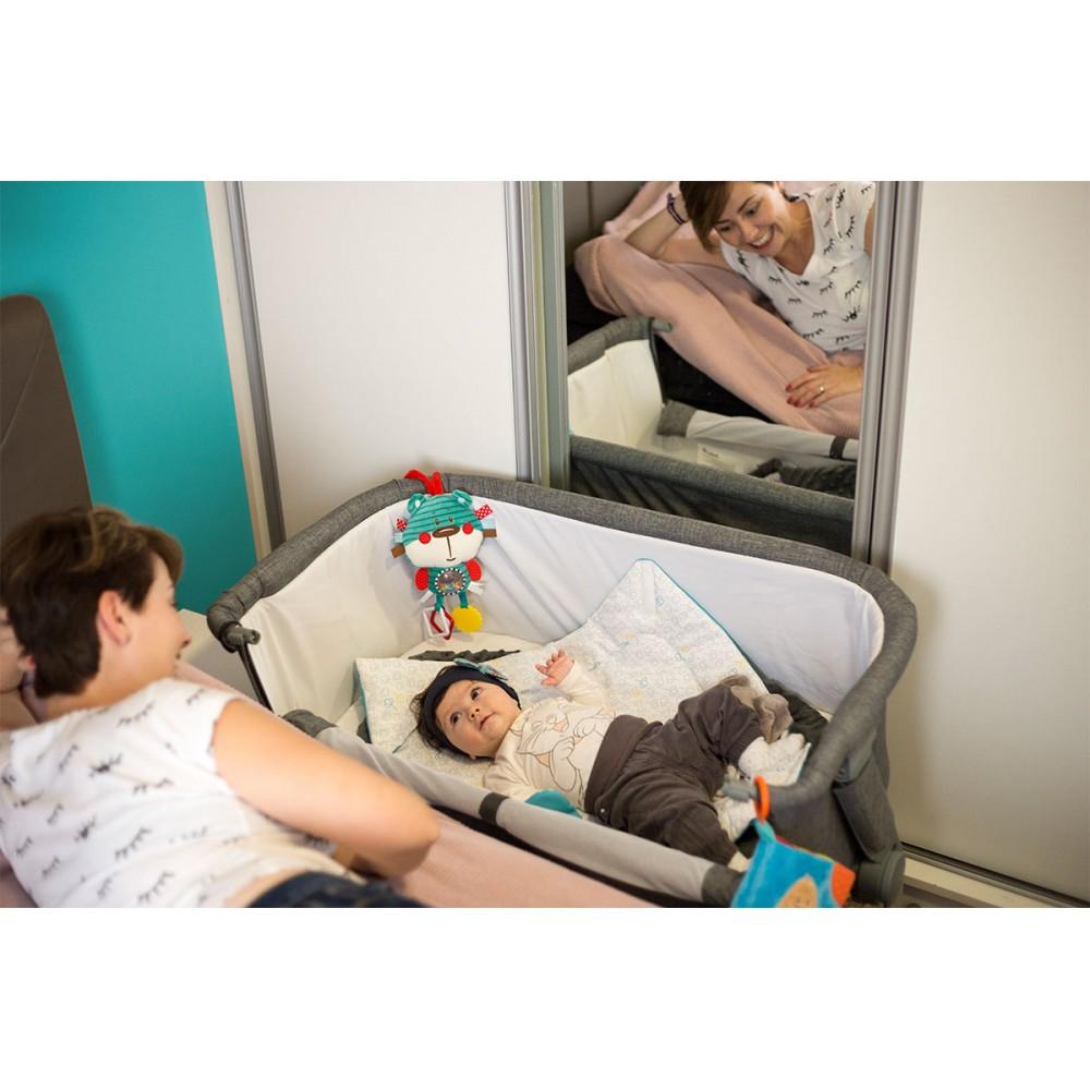Berceau uno 2 en 1 pour dormir c te c te avec b b - Lit bebe a cote lit parental ...