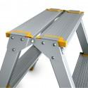 Escabeau marche pied ALVE 120 kg aluminium pliable