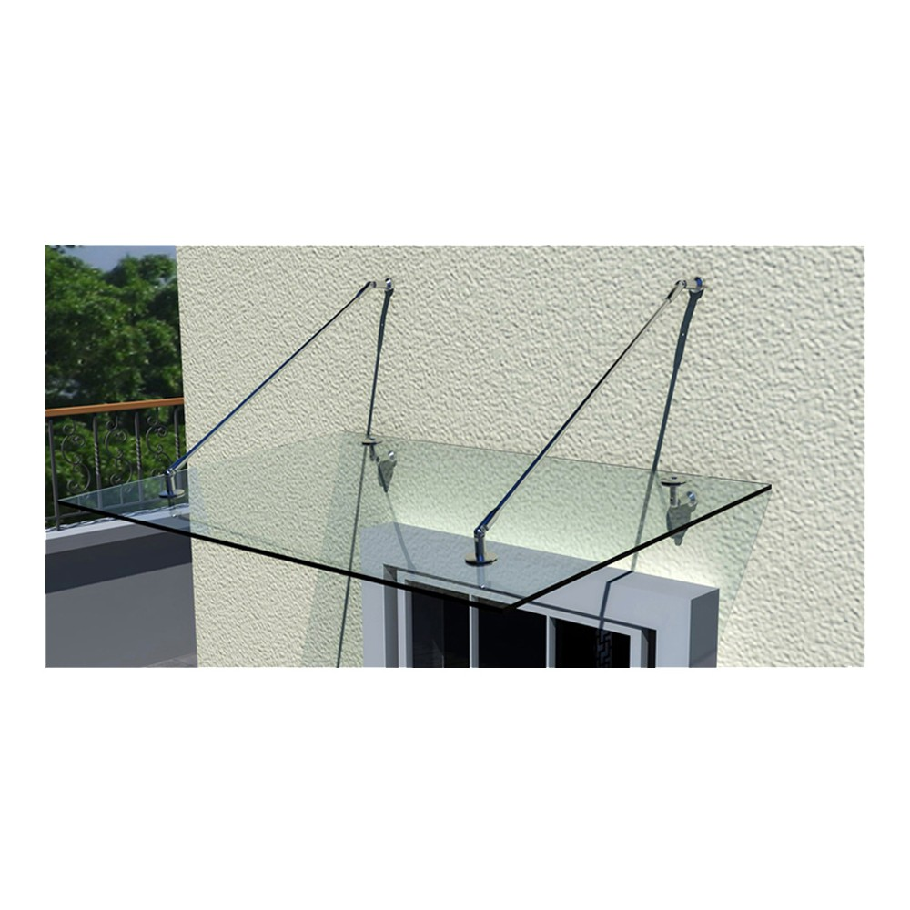Auvent transparent terrasse fashion designs - Auvent de porte leroy merlin ...