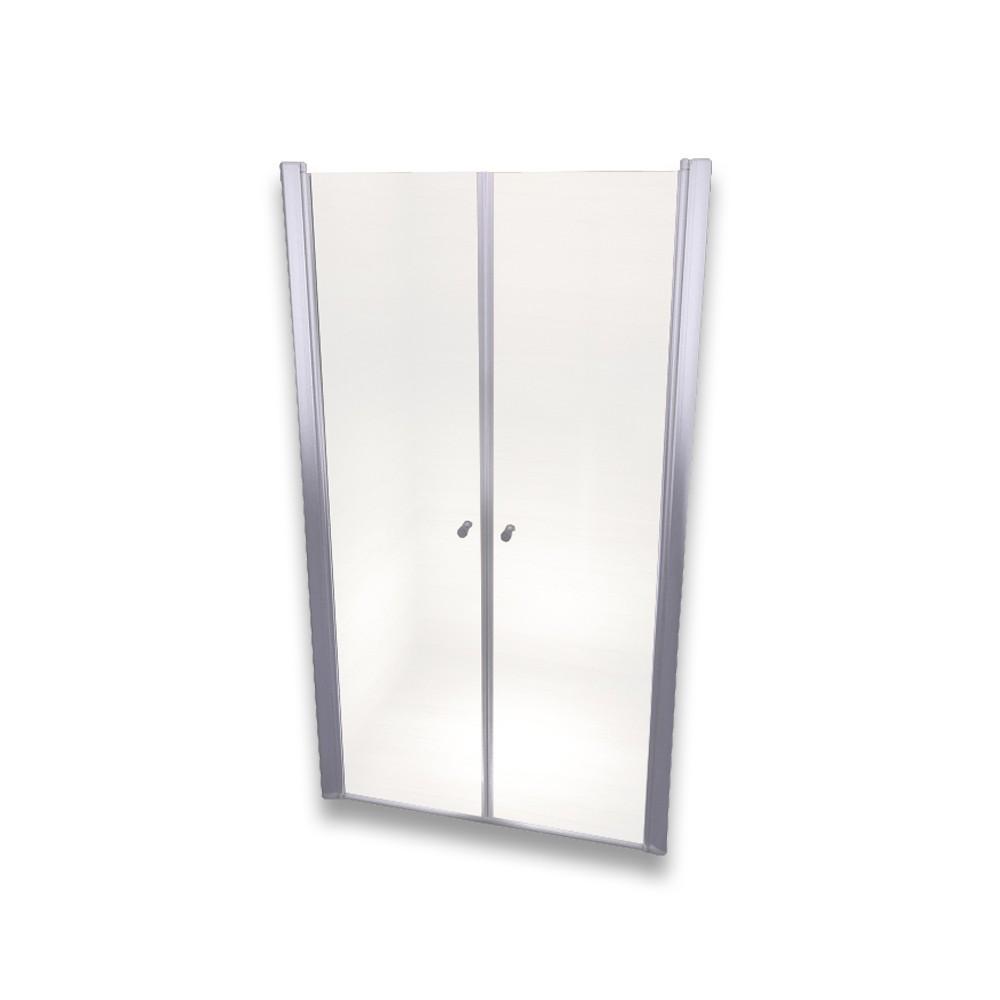 porte de douche r glable en verre de s curit en 195 cm de hauteur. Black Bedroom Furniture Sets. Home Design Ideas
