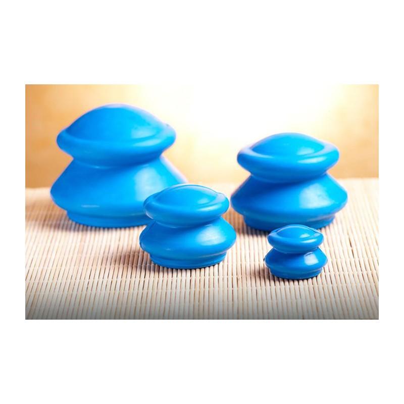 4 x ventouses chinoises anti cellulite appareil masseur