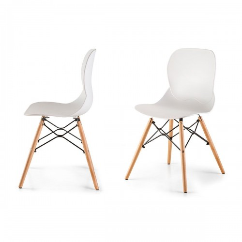BORAS Lot de 2 chaises style scandinave nordique