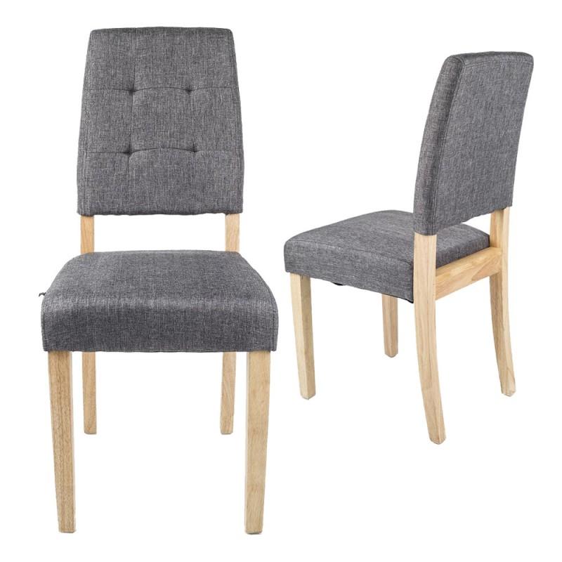 lot de chaises scandinaves lokke nordiques - Chaises Scandinaves Grises