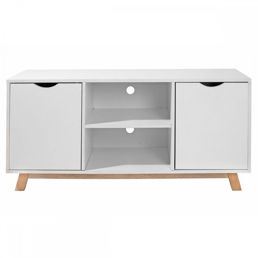 Meuble tv flo homekraft style scandinave nordique for Meuble tv scandinave 110 cm