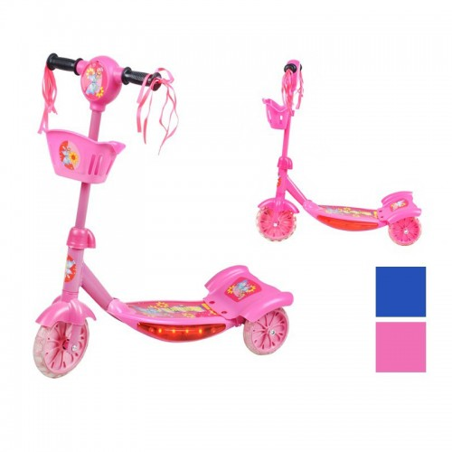 Trottinette musicale roues LED scooter