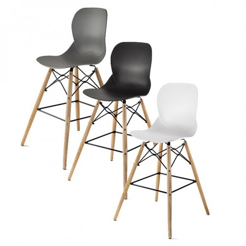 KEMI 2 tabourets de bar scandinaves