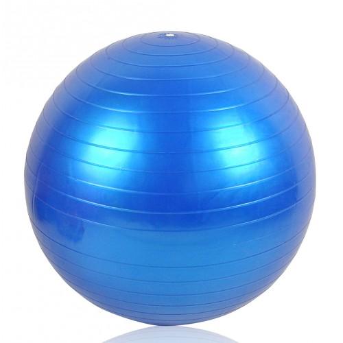 ballon de gymnastique bleu
