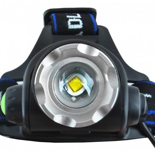 lampe frontale LED lampe de poche ZOOM