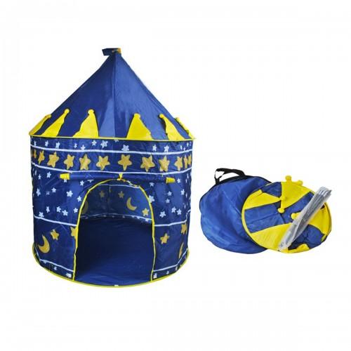 Tente chateau bleu