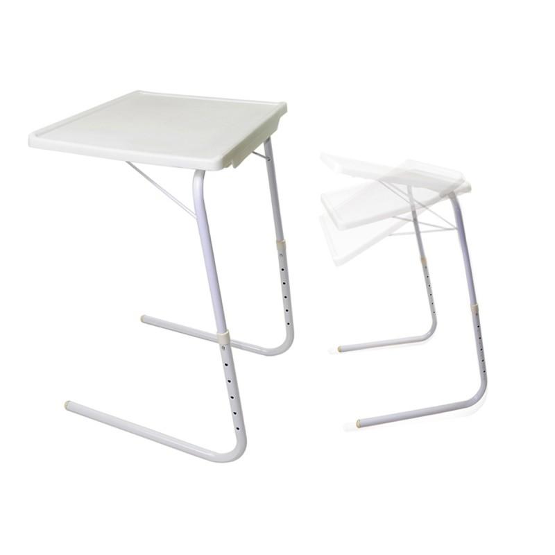 Table d 39 appoint salon ordinateur ajustable for Table appoint salon