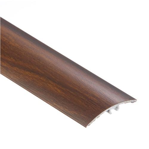 Barre de seuil aluminium couleur noyer