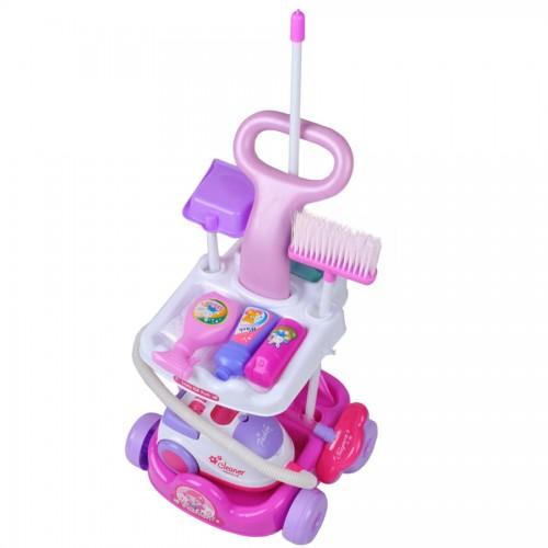 Chariot de ménage jeu d'imitation pour enfant