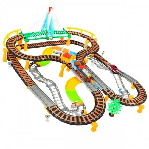 Jeux circuit petit train et voiture à partir de 6 ans