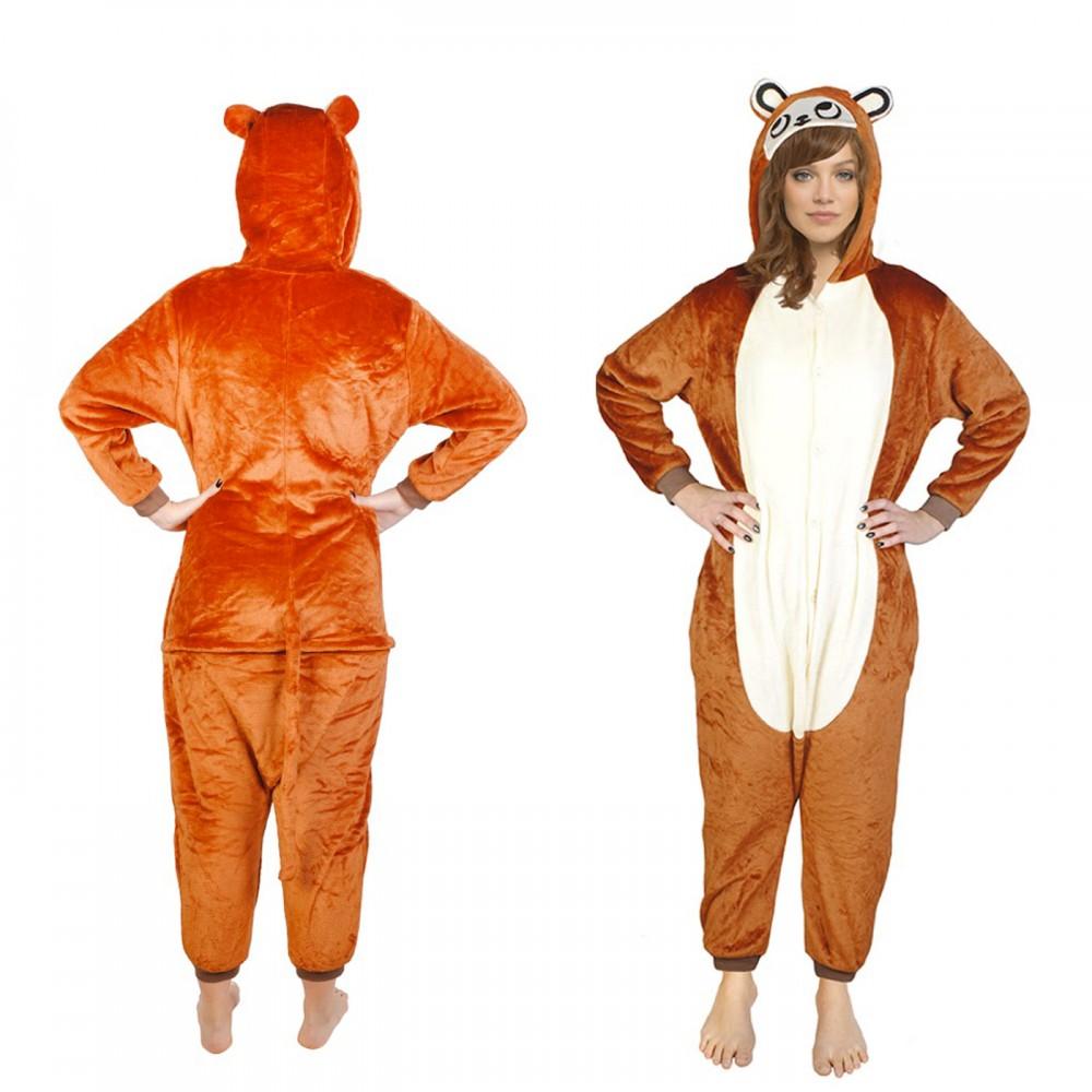 big sale latest uk availability Détails sur Pyjama ours adulte Marron