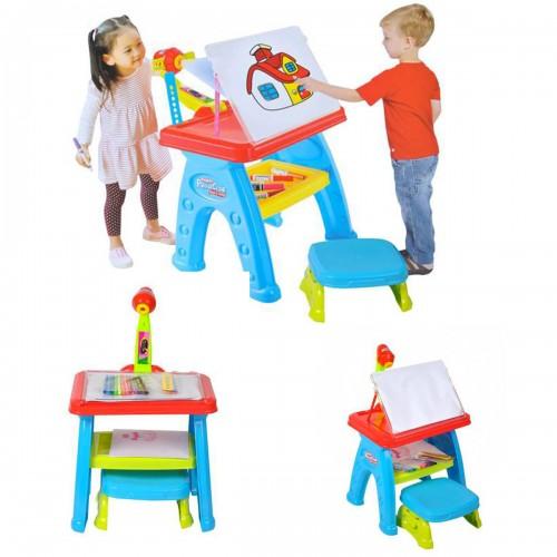 Table à dessin bureau avec projecteur pour enfant