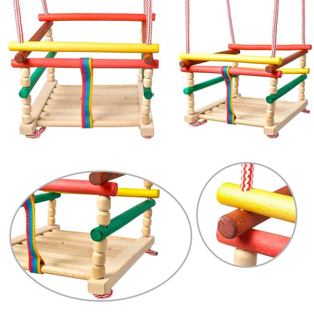 balancoire enfant bois best wickey balanoire smart swift balanoire en bois pour enfants siges. Black Bedroom Furniture Sets. Home Design Ideas