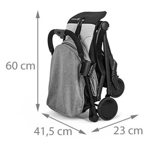 Poussette parapluie compacte dimensions
