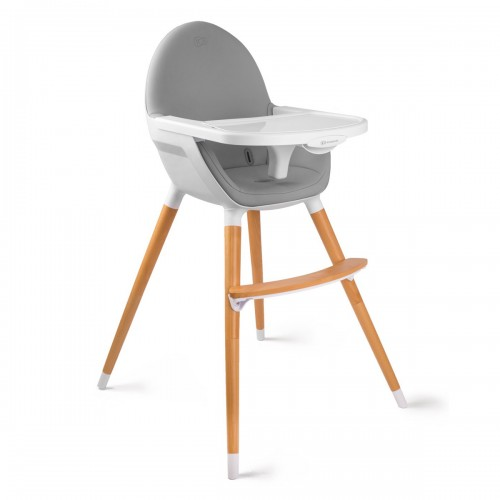 FINI chaise haute bébé 2en1 style scandinave nordique bois