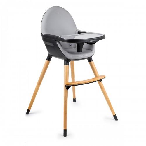 FINI chaise haute, noire